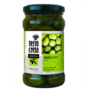 Selection Olives Green